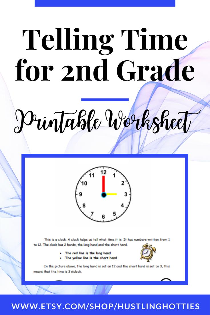 Telling Time For 2nd Grade Printable Exercise Worksheet Home School Worksheet Homeschool Math School Worksheets Teaching Homeschool [ 1102 x 735 Pixel ]