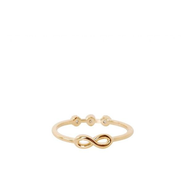 Humble Chic NY Double Sided Infinity Ring 20 liked on Polyvore