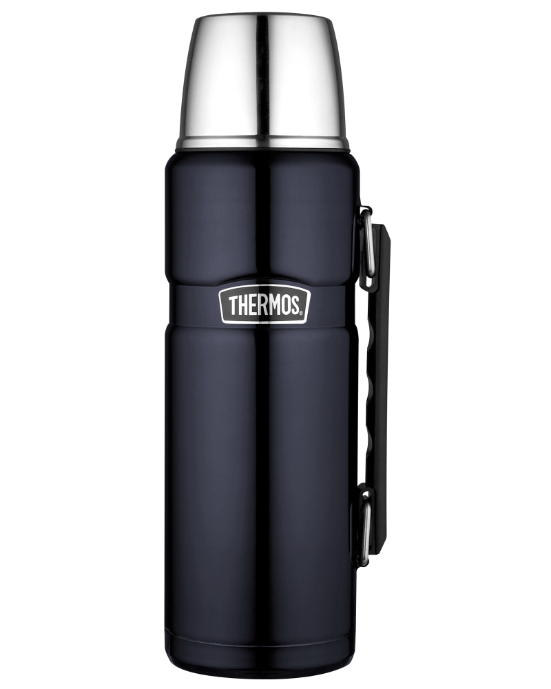 Thermos stainless king flask serving bowl for retention temp-470ml midnight blue