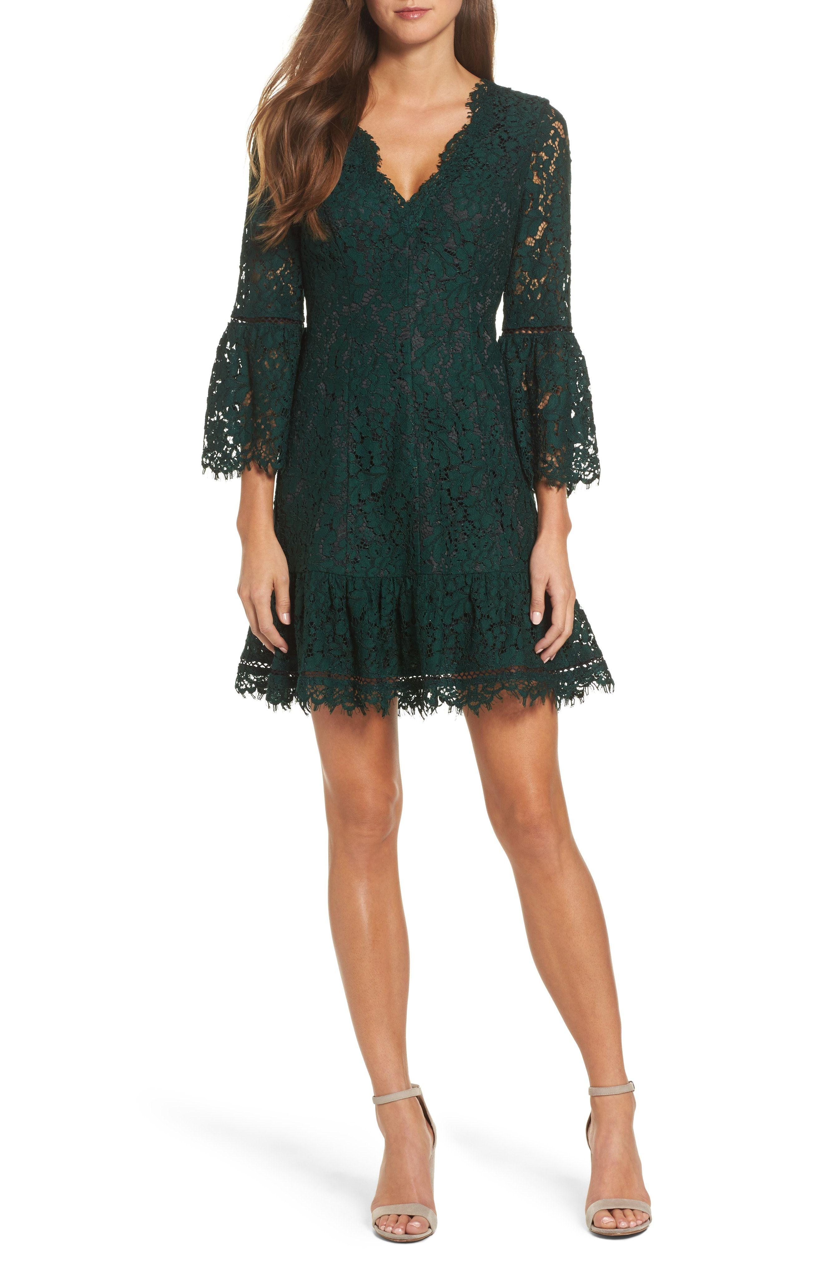 Eliza j bell sleeve lace dress regular u petite fashion finds
