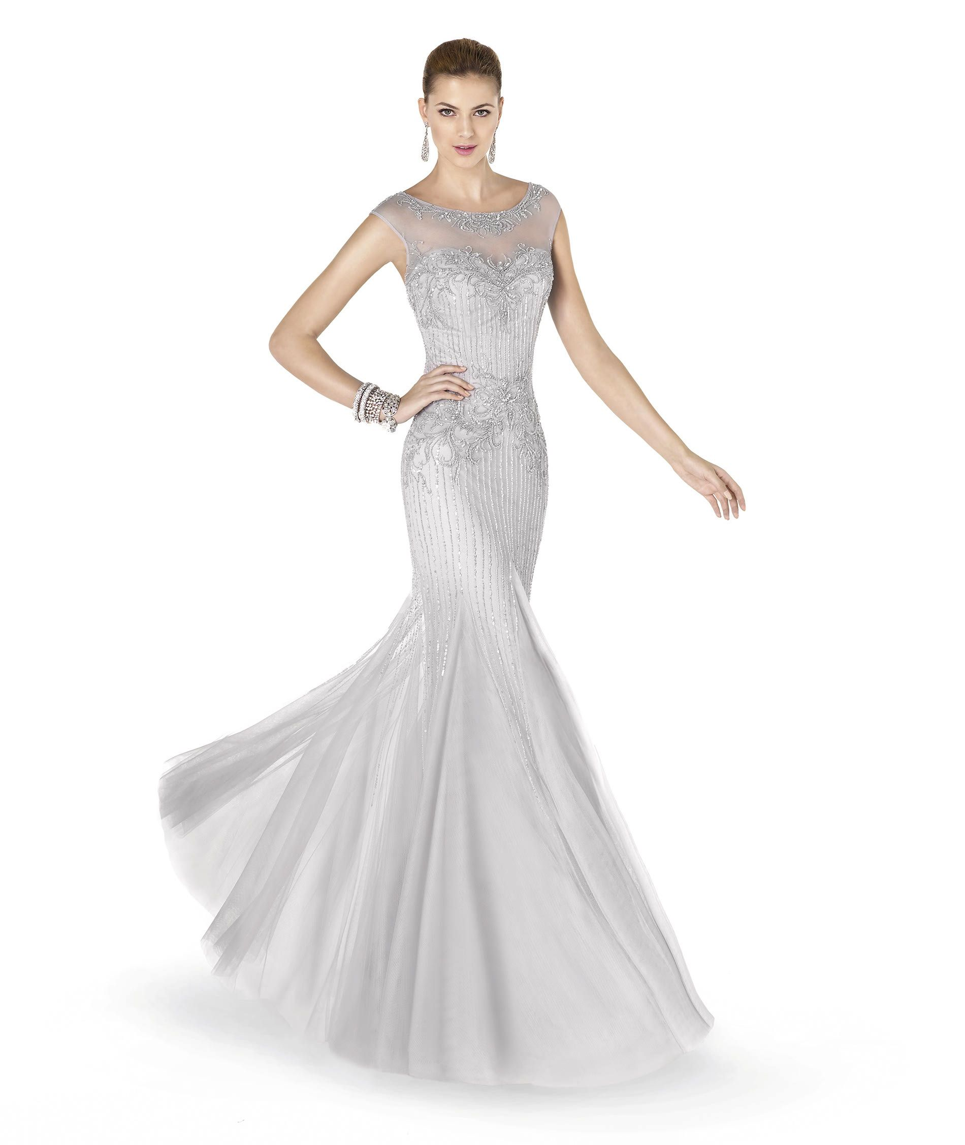 Pronovias presents the ADENA cocktail dress from the Cocktail 2015 ...