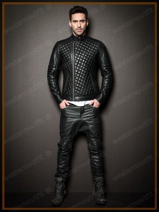Leatherlook Biker Pantaloni Costume
