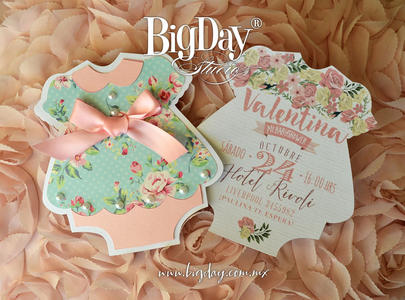Baby Showers In Liverpool ~ Valentina y su tierna llegada invitación de baby shower