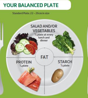 Pin On Balance Plate Diet