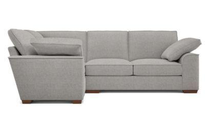 Nantucket Extra Small Left Hand Grey Corner Sofa Corner Sofa Brown Corner Sofas Sofa
