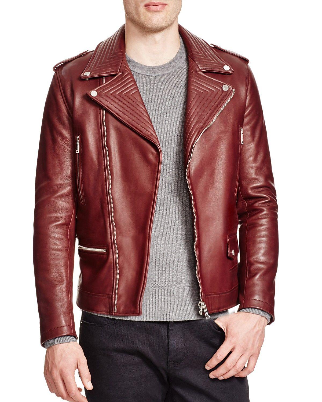 Kent And Curwen Leather Formal Biker Jacket Men Bloomingdale S Leather Jacket Style Leather Jacket Outfit Men Mens Leather Bomber Jacket [ 1500 x 1200 Pixel ]