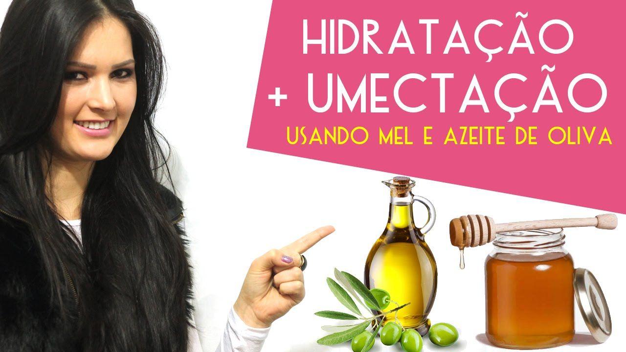 Hidratação + Umectação nos Cabelos Usando Mel e Azeite de Oliva - Passo ...
