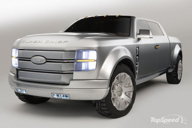 2006 Ford F 250 Super Chief Concept Pictures Photos Wallpapers Top Speed Ford Super Duty Ford F250 Concept Cars