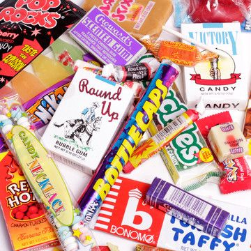 Old fashioned candies for Halloween. Brings back great memory. 2.5 pounds' worth and only $22! #food #candy