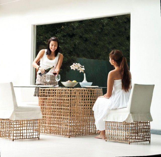 1000 images about rcznie plecione meble azjatyckie inspiracje on pinterest - Meble Aboua Closer