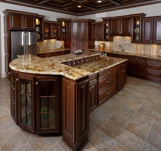 Kitchen Cabinets Naperville: Biscotti Café Kitchen 1
