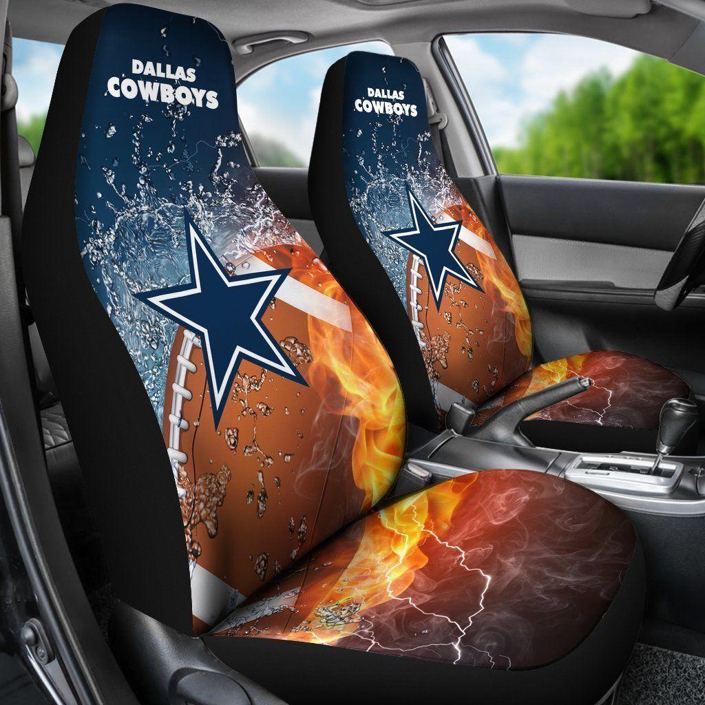 Dallas Cowboys Car Seat Cover 2pcs Dallas Cowboys