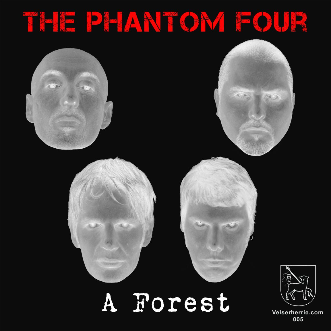 "The Phantom Four - A Forest / Gun On My Temple (7"", 2011)"