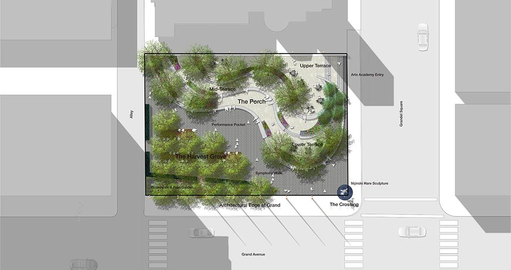 Grand Center Arts Academy Plaza Project List Projects Forum - project list