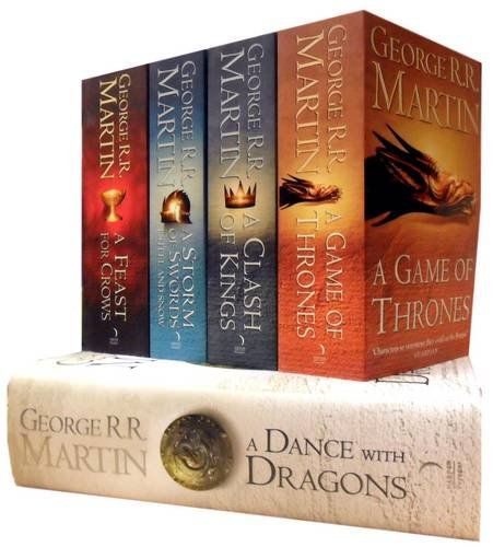 5 Book Series by George RR Martin
