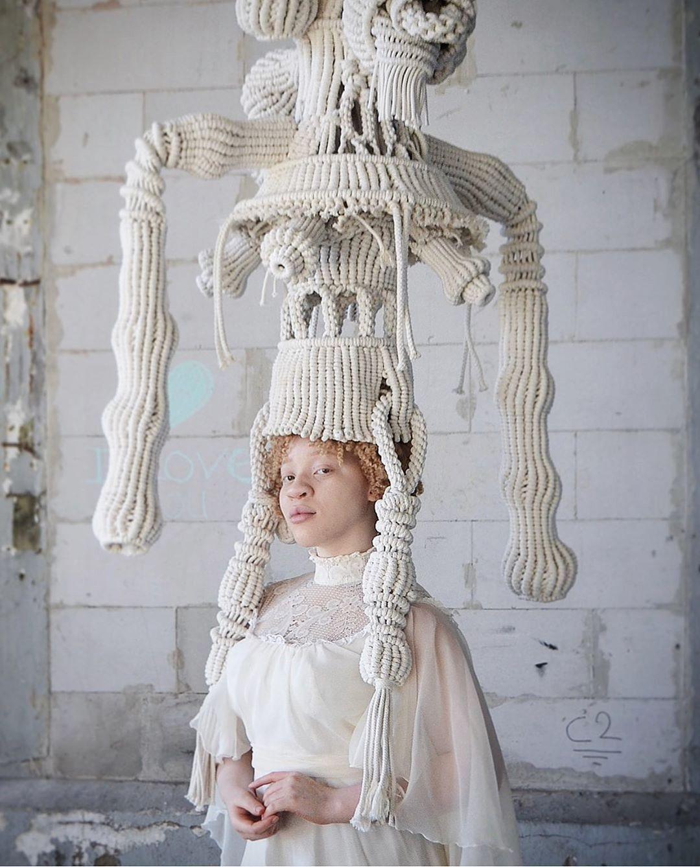 Искусство плетения #wearableart