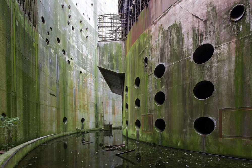 Nuclear reactor apocalypse aesthetic abandoned