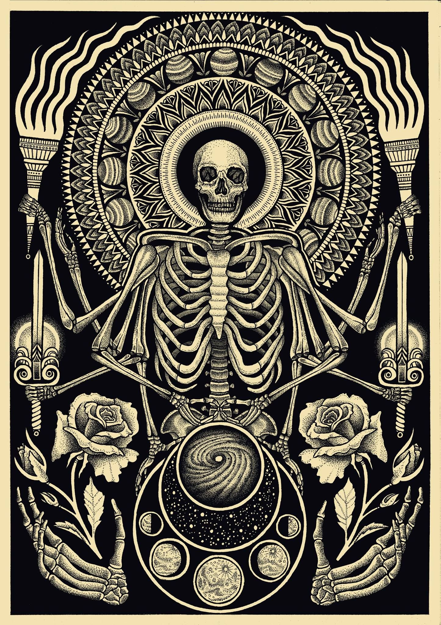 This outstanding piece by Dale Sarok | Occult Artwork ...