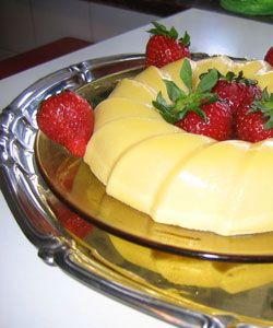 Bavarian vanilla cream