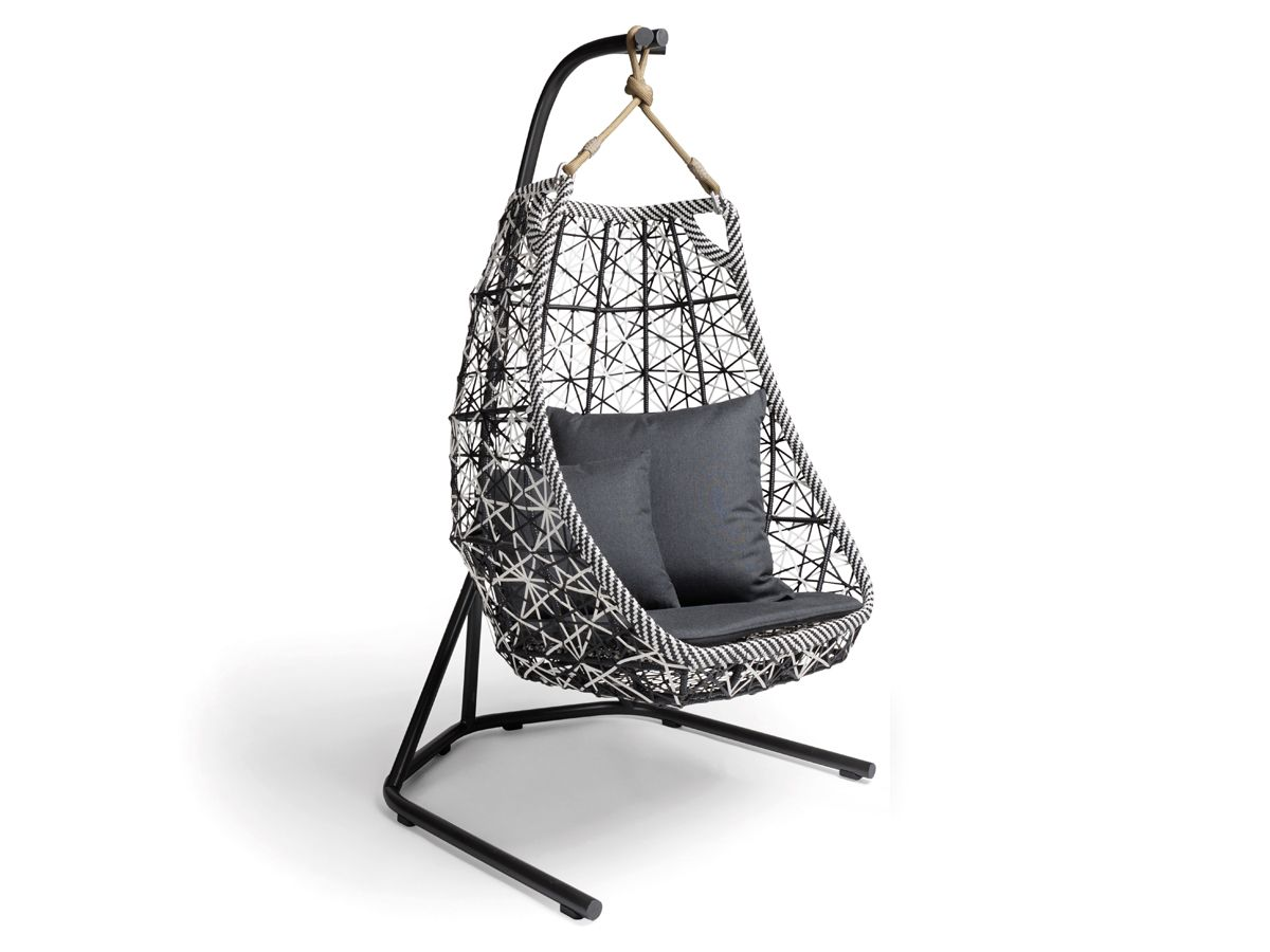 kettal maia egg swing swings nest and outdoor furniture