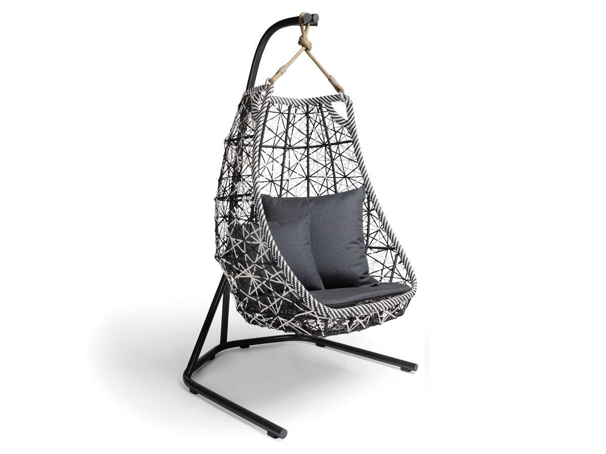 Swing Chair Patricia Urquiola Qdos Kneeling Posture Review Kettal Maia Egg Armchair 单人椅子 Pinterest Swings