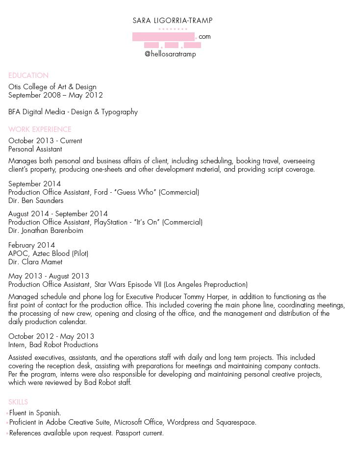 Bad Resume Examples Dissecting The Good And Bad Resume In A Creative Field  Resume