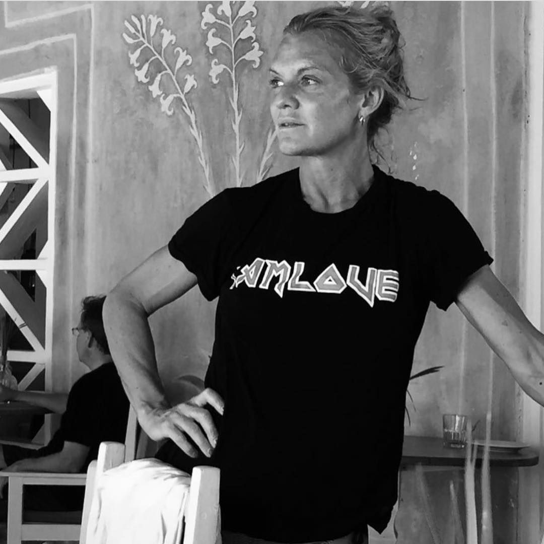 Ulrika Lundgren herself in the Rika Studios May Tee - shop the new SS17 collection in stores & online now.