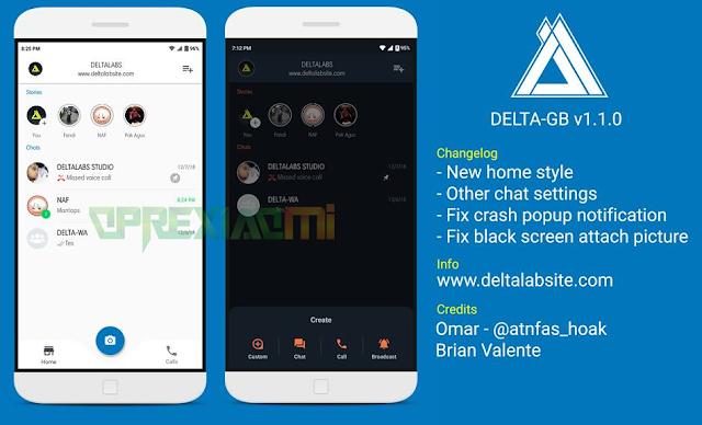 Download Whatsapp Mod DELTAGB Apk v1.1.0 Apk Full Update