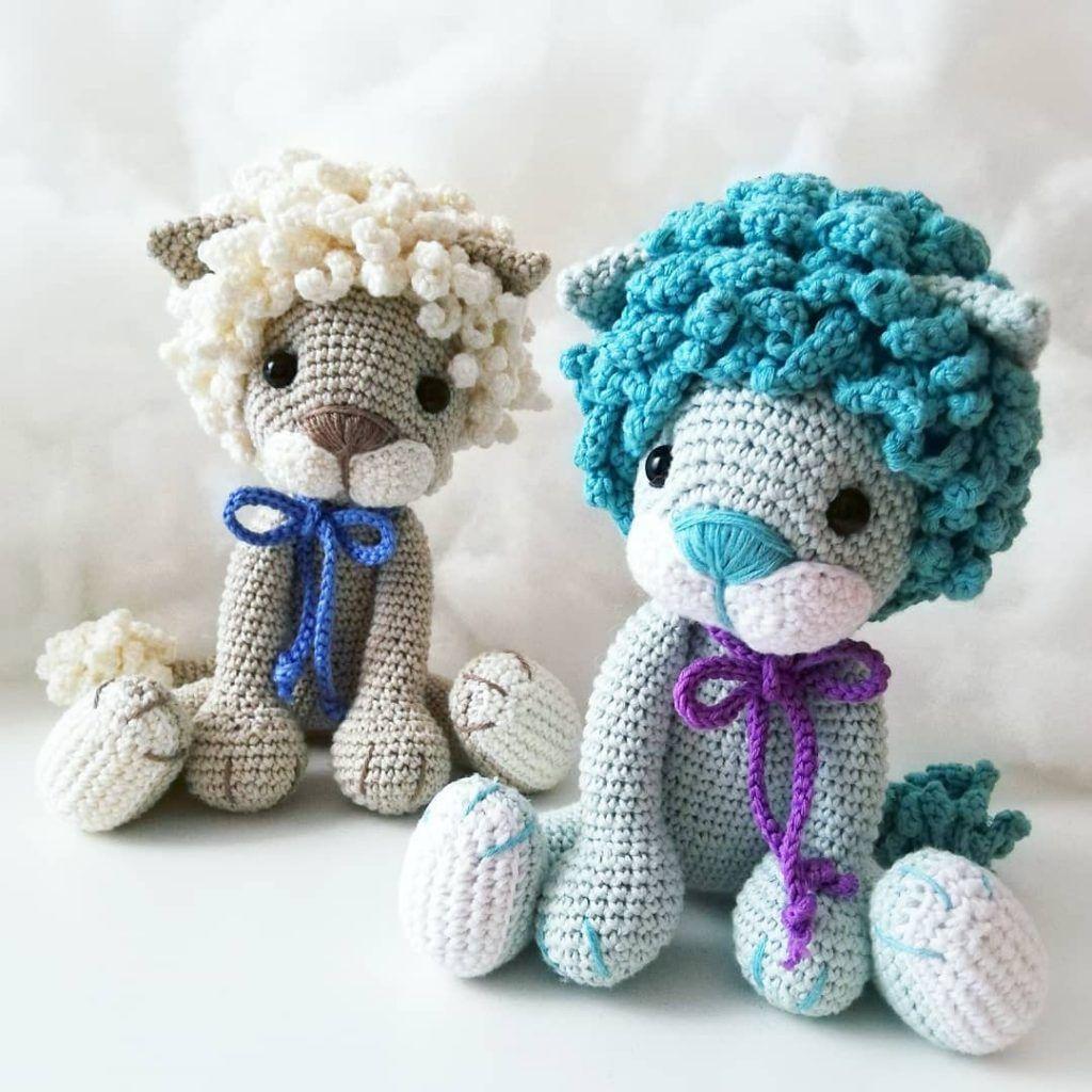 Lion Amigurumi Pattern - Free Crochet Pattern • Craft Passion | 1024x1024