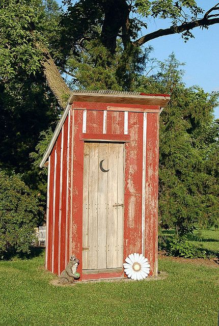 Outhouse Privy With Images Outhouse Outdoor Toilet Shed