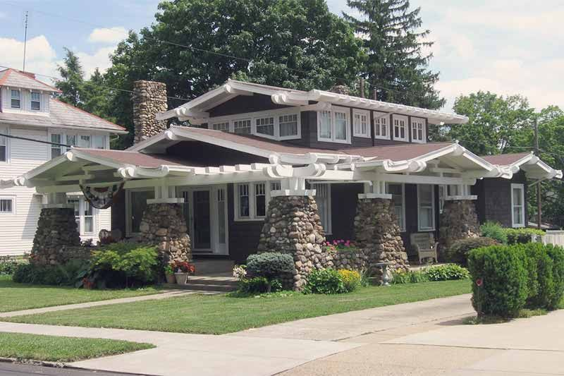 Craftsman Style 1905 1930 Circa Old Houses Old Houses For Craftsman House Craftsman Bungalows Bungalow Style