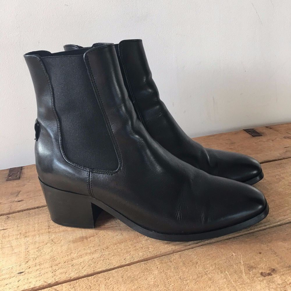 Size 8 Topshop Brown Ankle Chelsea Boots