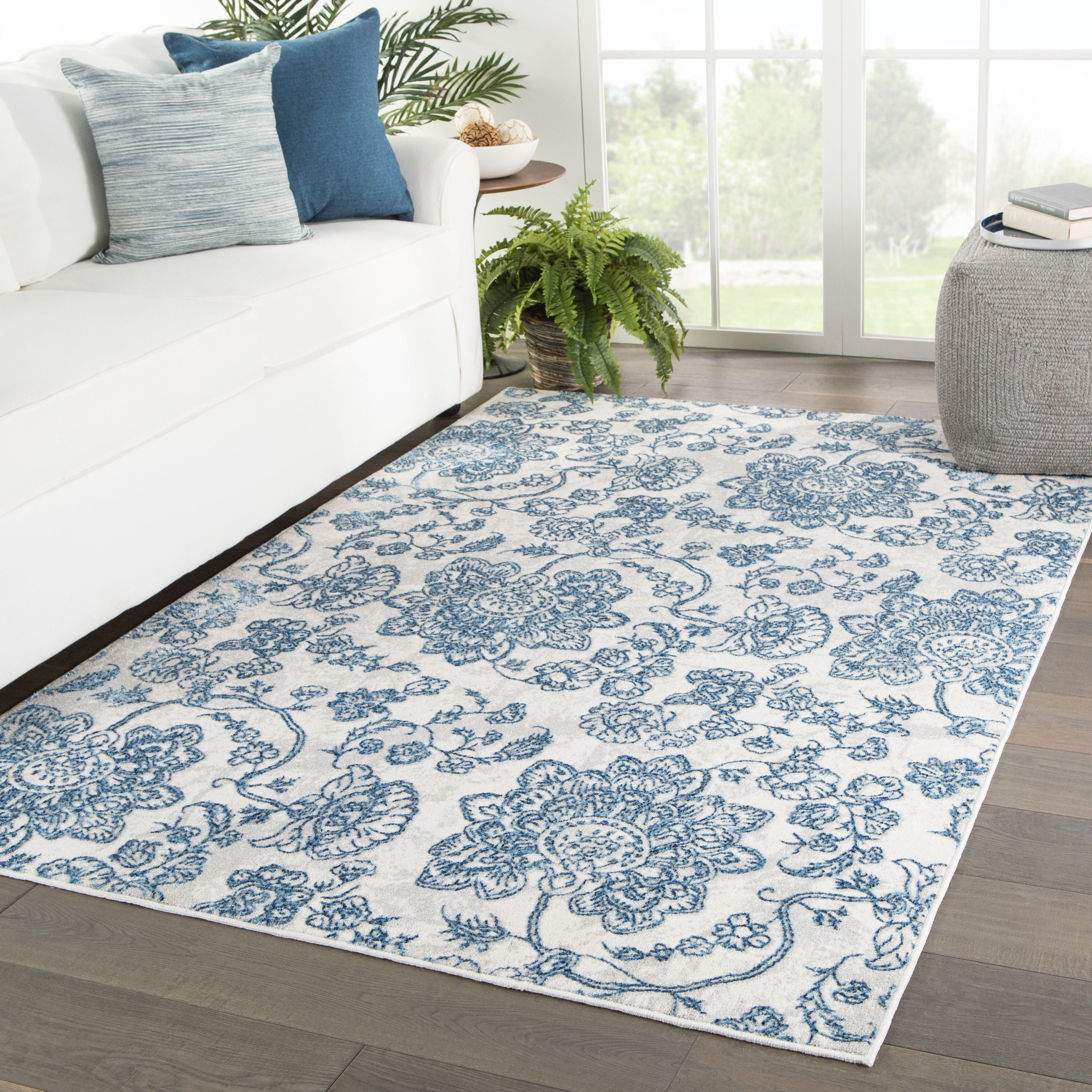 Funderburk Paisley Blue Light Gray Area Rug Grey Area Rug Light Grey Area Rug Area Rugs