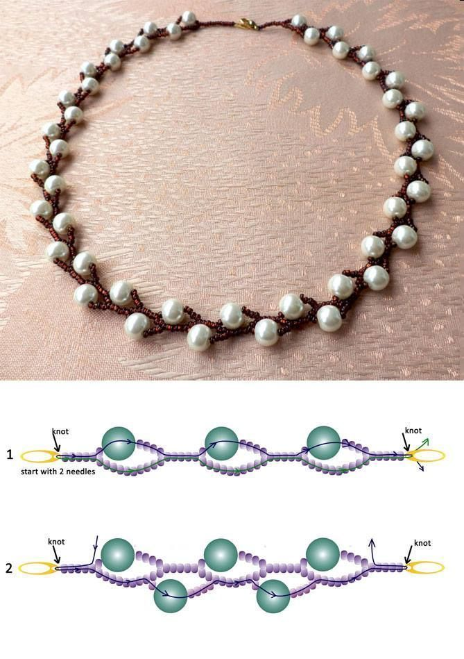 Photo of Seed beads jewelry Don't tell me you can't read these bead diagrams! So