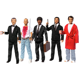 "Pulp Fiction - Do You Speak It 13"" Explicit Talking Action Figure Bundle (Set of 5)"