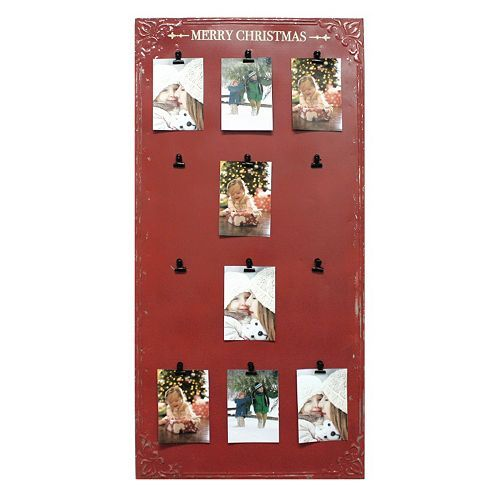 Fetco Welch Merry Christmas 12 Opening 4 X 6 Card Holder