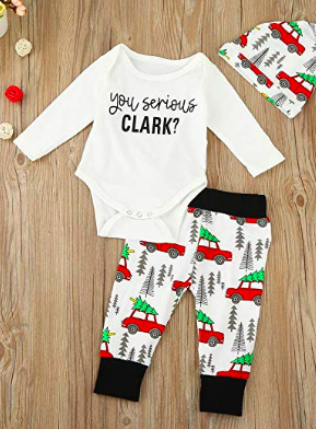 27ea289f4 You Serious Clark? Christmas Vacation baby outfit. Funny baby outfit, Christmas  clothes, kids fashion, #ad