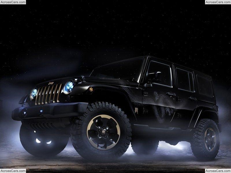 Jeep Wrangler Dragon Concept (2012) Jeep wrangler, 2014