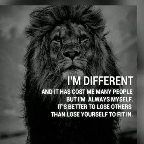 Yes, Life Has Made Me Different!