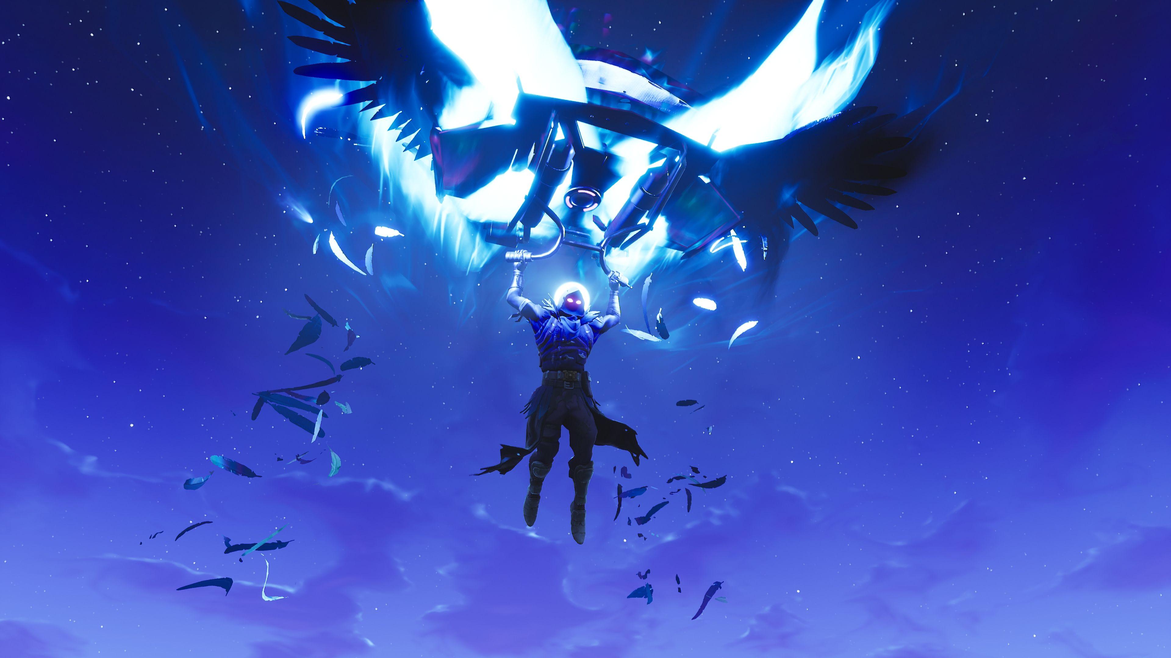 Raven Feathered Flyer Glider Fortnite Battle Royale Video Game