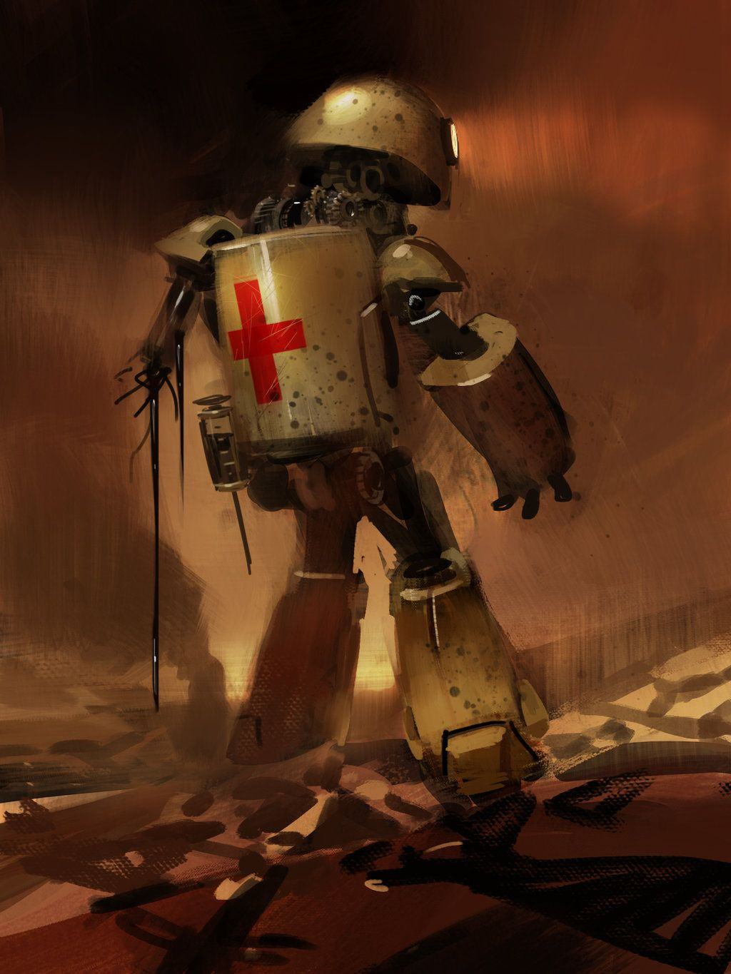 Mechanical Medic by medders on DeviantArt | Art and technology, Art, Fantasy  art
