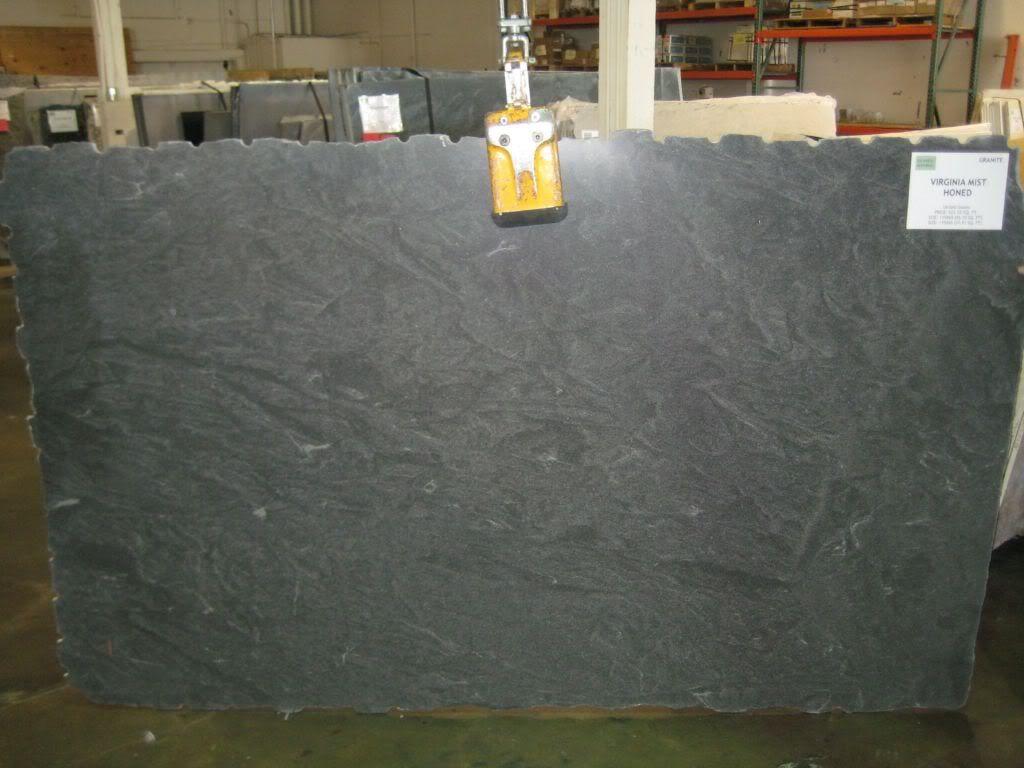 Virginia Jet Mist Honed Definitely Honed Granite