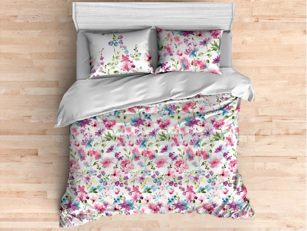 Ensemble Housse De Couette 200 X 220 Cm Loreto Bed Bed Spreads Furniture