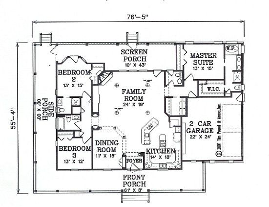 Country House Plan - #ALP-0850 - Chatham Design Group House Plans