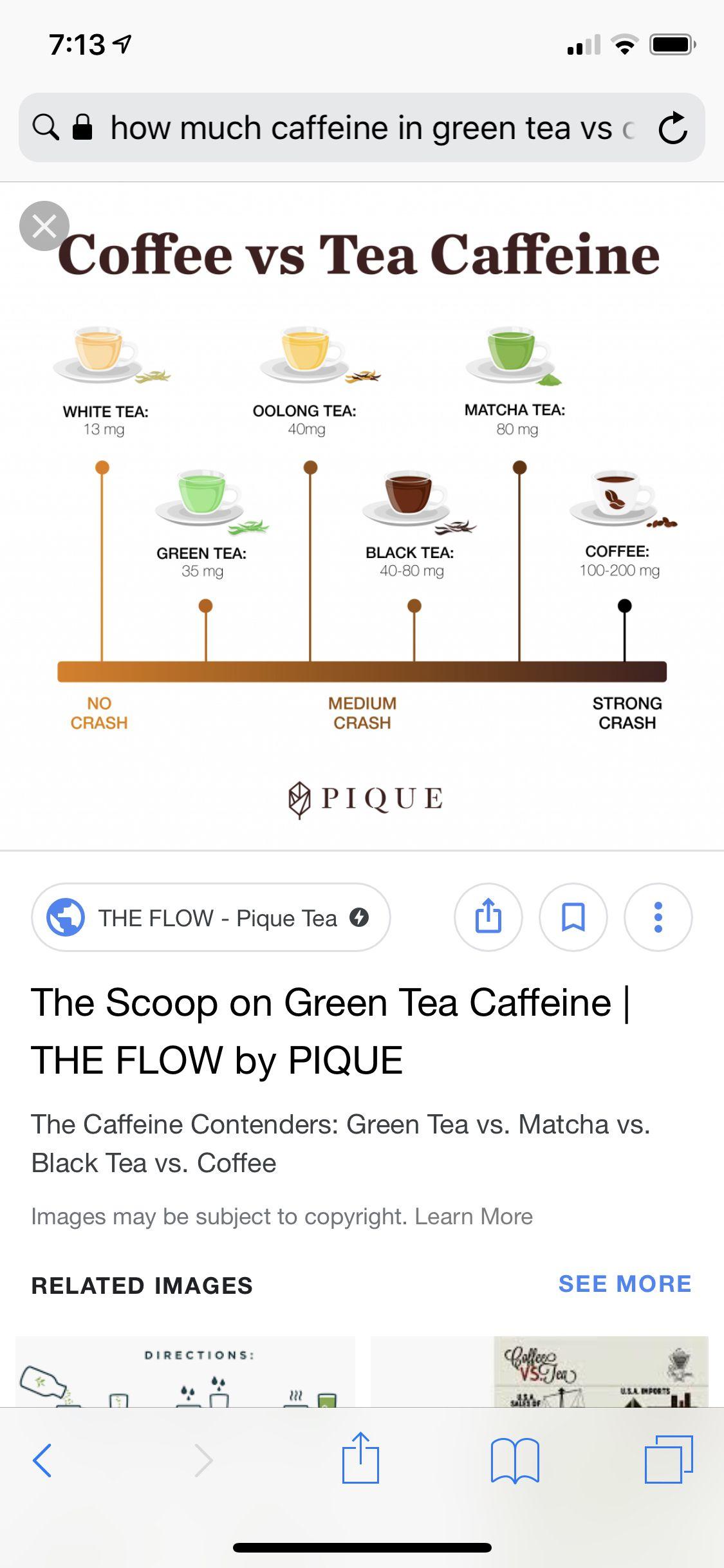 Pin By Alejandra Guenther On Health Pique Tea Coffee Vs Tea Matcha Tea