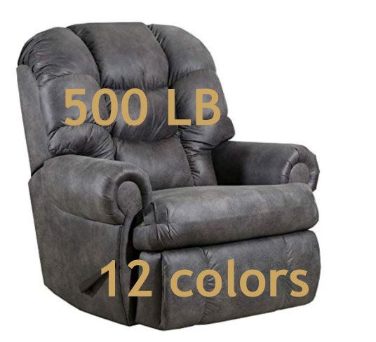 Best Big Cozy Heavy Duty 500 Lb Recliner Chair For The Big 400 x 300