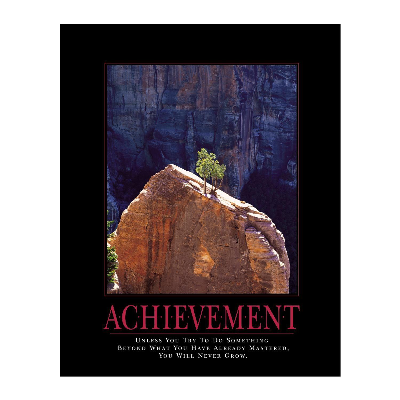 Achievement Tree Motivational Poster Motivational