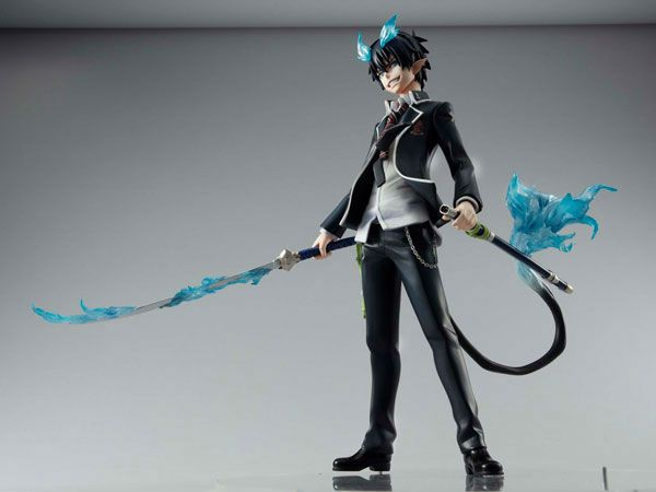 Rin collectible figures ao no exorcist - check out his tail!