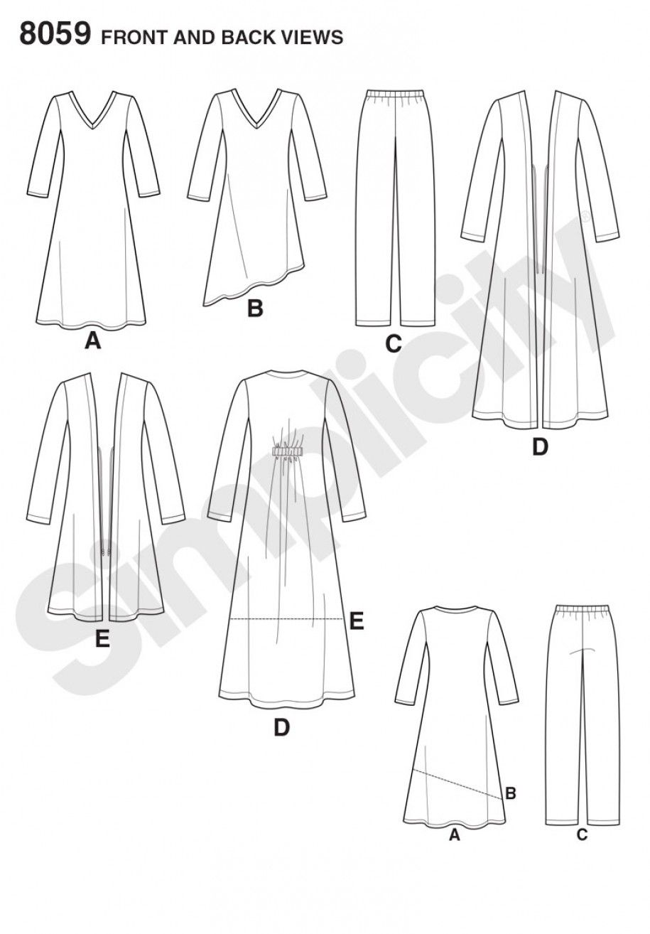 8059 - Sewing- Patterns- NZ - dresses, childrens, babies, toddlers ...