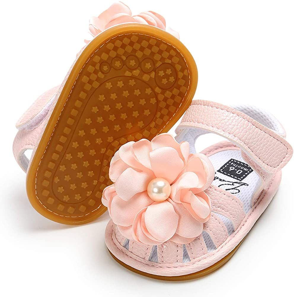 Premium Soft Rubber Sole Anti-Slip Summer Toddler Flats First Walkers Shoes BENHERO Infant Baby Girls Sandals